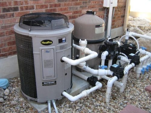 Top Pool Heater System