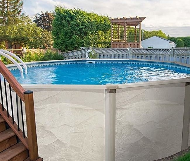 24 round above ground pool liner