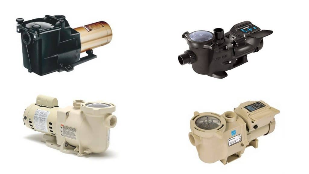 types of pool pumps
