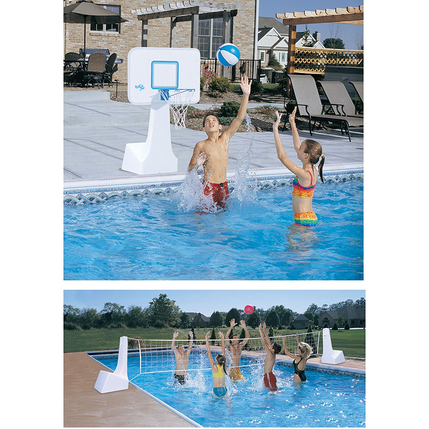 Swimming Pool Basketball Hoops Review