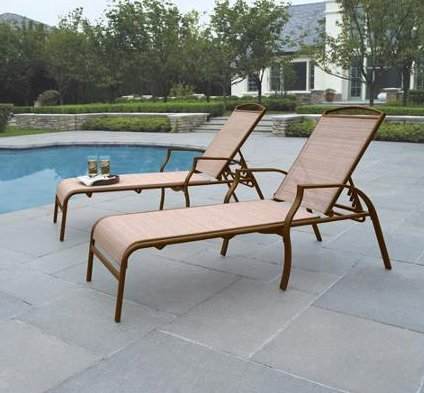 pool lounge chairs amazon patio made stain resistant costco poolside furniture