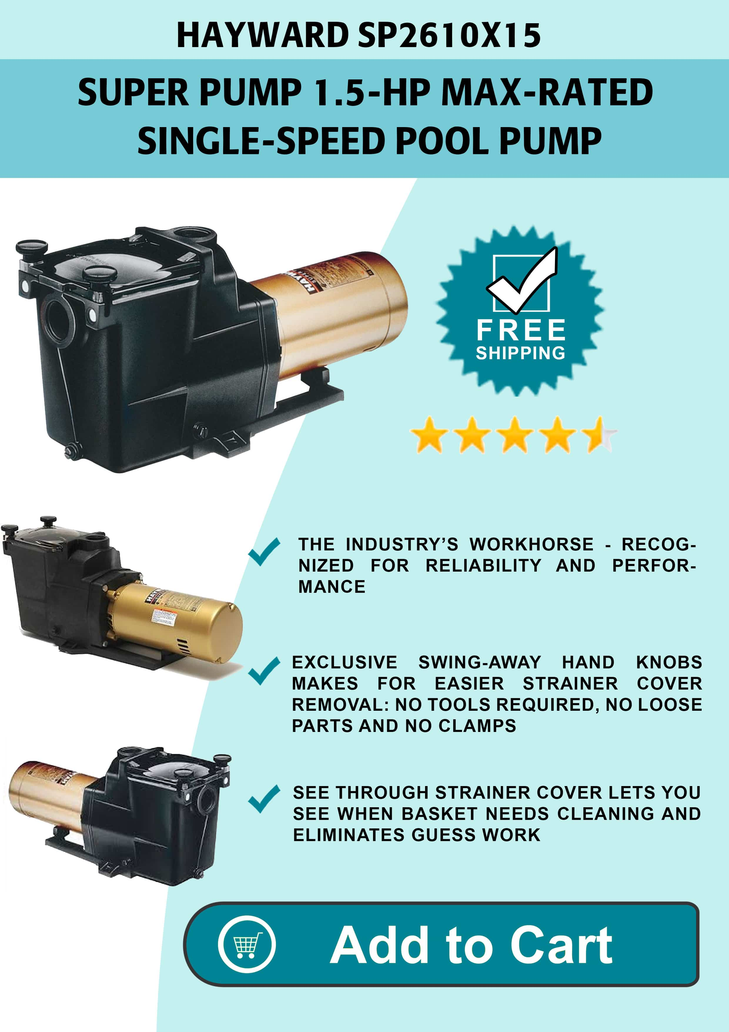 Xtremepowerus Energy Pool Pump Review Maytronics Cleaner Wiring Diagram Swimming