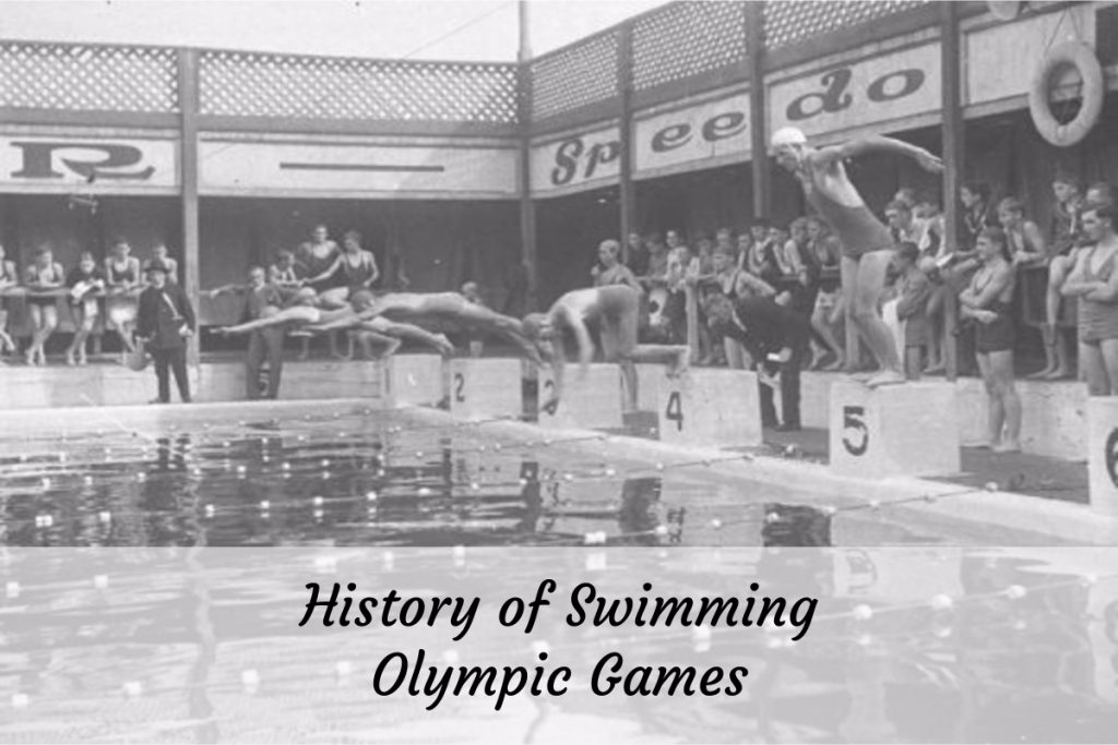 History of Swimming Olympic Games