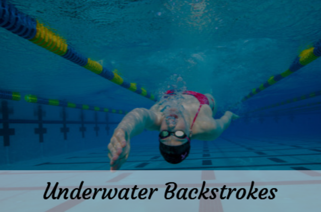 Underwater Swimming Backstrokes