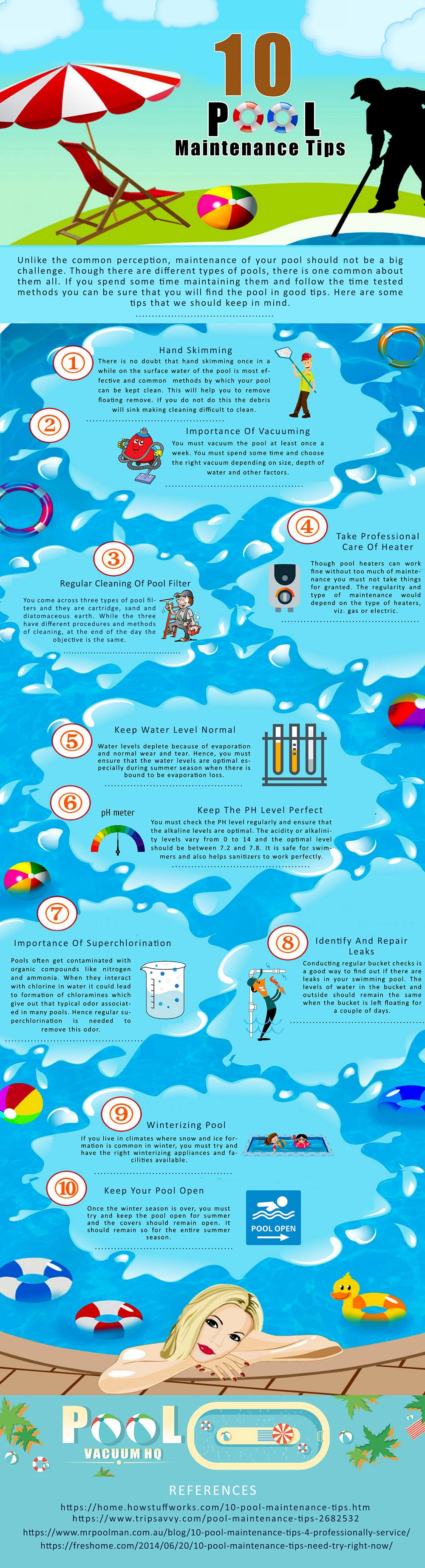 10 Cost Effective Pool Maintenance Tips