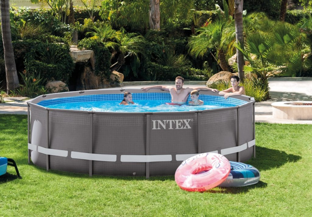 how unlevel can an intex pool be by 3 inches