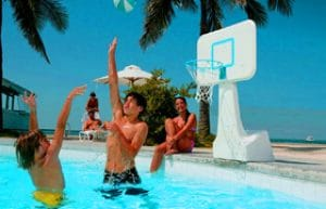 adjustable pool basketball hoop