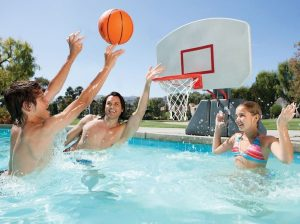 best inground pool basketball hoops