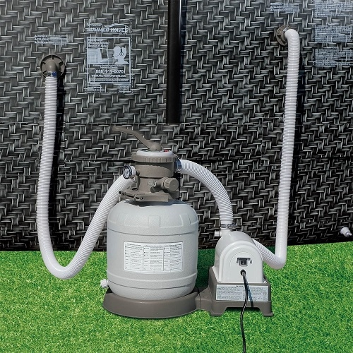 how to vacuum a pool with a sand filter