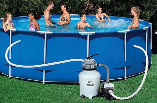 how to vacuum above ground pool with sand filter