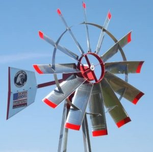 23' Pond Aerator Windmill | American Eagle | Wind Mill Aeration System Kit