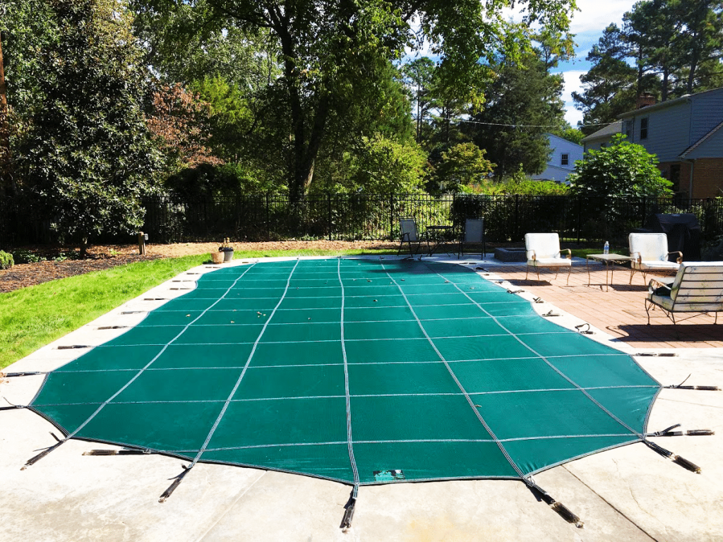how to prevent pool cover from sagging