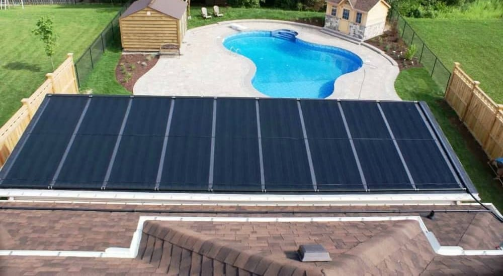solar heating for pools