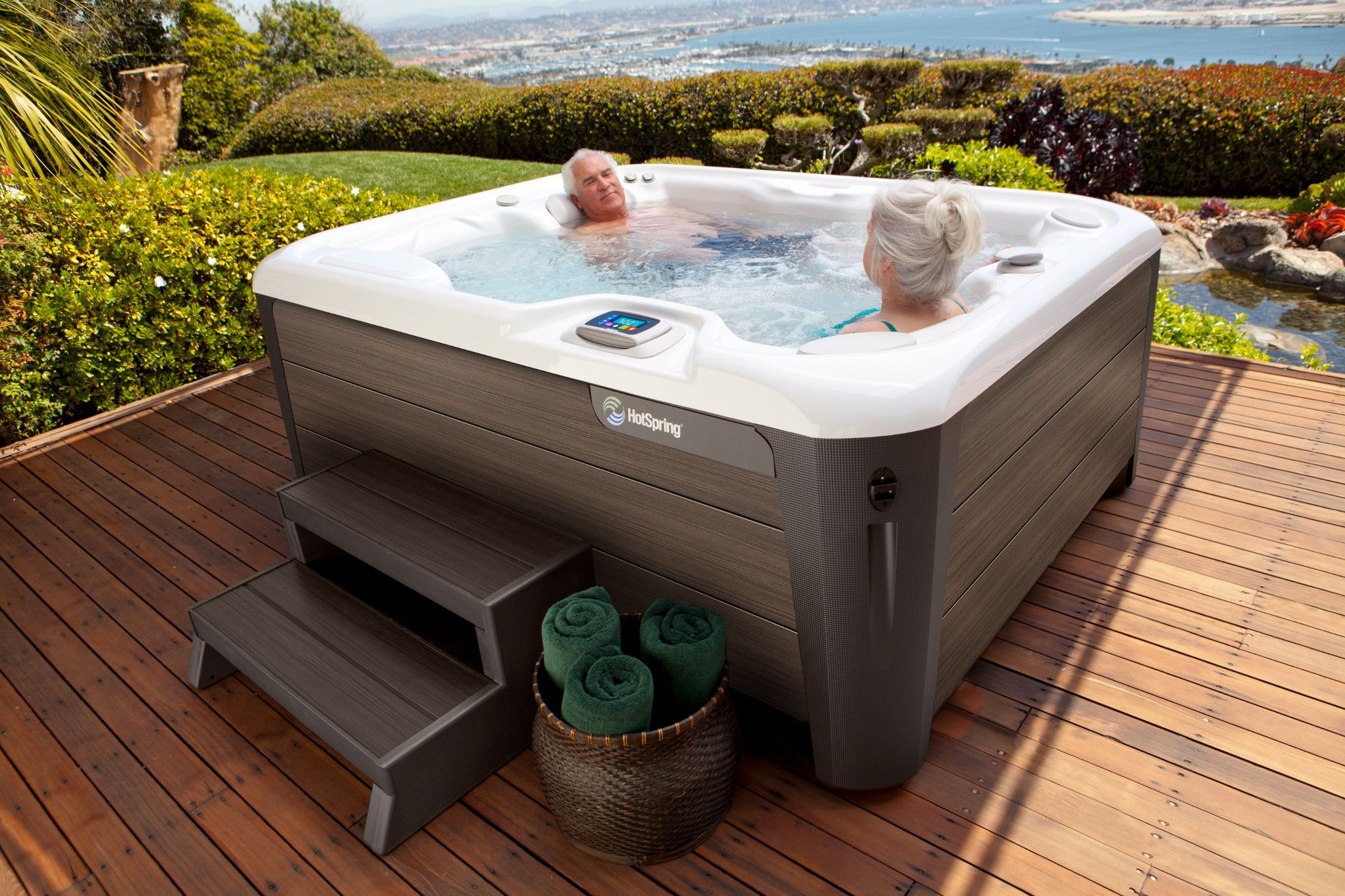 hot tub clearance