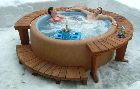how to lower alkalinity in a hot tub