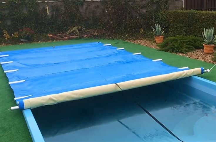 winter pool covers above ground