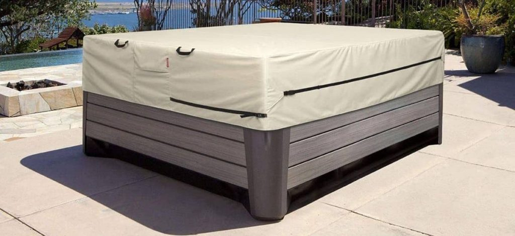 hot springs hot tub cover